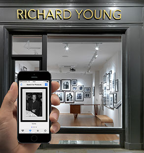 Richard Young Gallery, now running Iconeme beacon Technology.